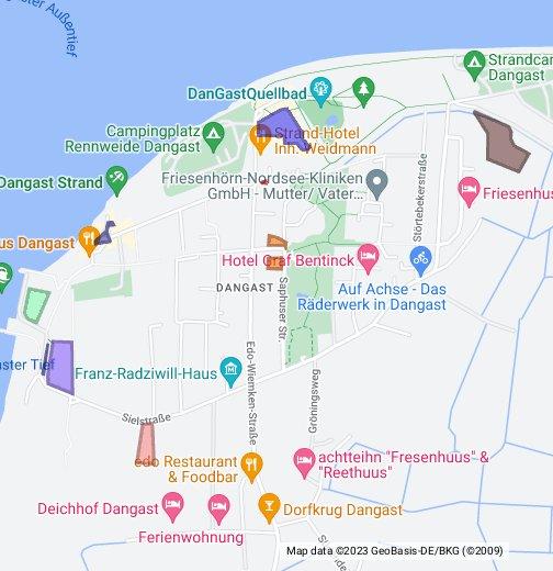 Dangast Karte.Parkplätze In Dangast Und Varel Google My Maps
