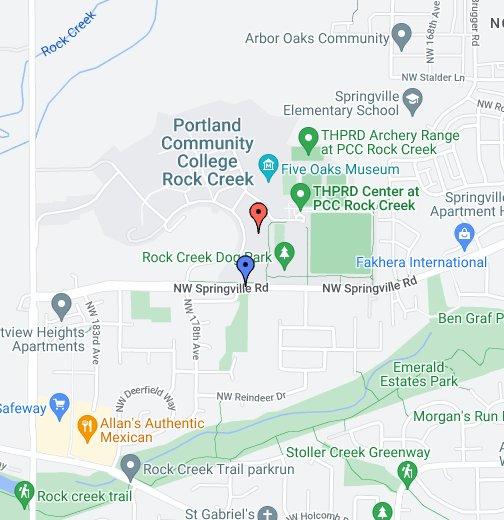 PCC Rock Creek - PSU Soccer Field - Google My Maps