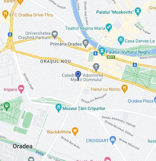 Salon Beauty Secrets Oradea - Oradea map