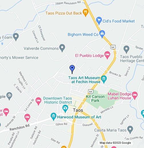 taos new mexico map google Taos Nm Google My Maps