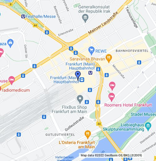 Frankfurt Hauptbahnhof on map of hohenzollern, map of schwaben, map of north german confederation, map of istanbul, map of rovaniemi, map of geneva, map of ruwais, map of council of constance, map of lusatia, map of cochem, map of baumholder, map of venice marco polo, map of raetia, map of monchengladbach, map of lyon, map of hoorn, anne frank, map of tampere, map of marburg, map of durnstein, map of dordrecht, zürich, frankfurt international airport,