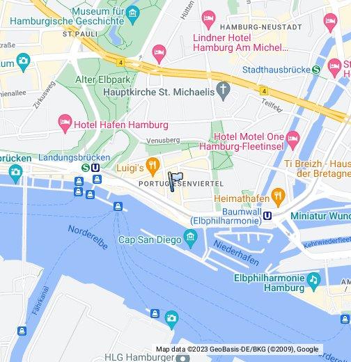 portugiesenviertel hamburg karte Portugiesenviertel, Hamburg   Google My Maps