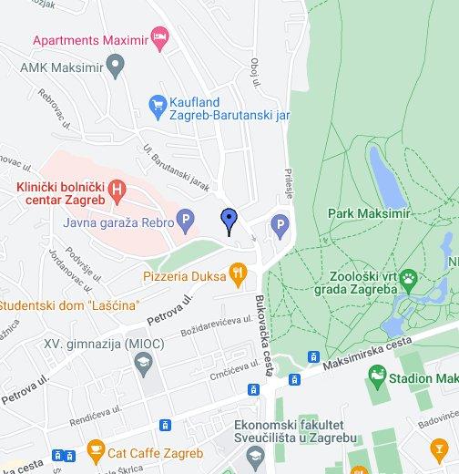 Spc Maksimir Location Map Google My Maps