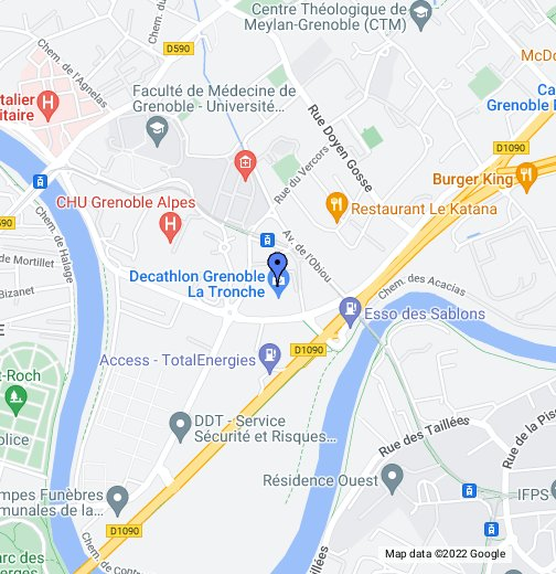 Decathlon - Google My Maps on map of port-vendres france, map of grasse france, map of cap ferret france, map of clermont-ferrand france, map of st tropez france, map of dunkerque france, map of barcelonnette france, map of annecy france, map of cherbourg france, map of avignon france, map of strasbourg france, map of montpellier france, map of arles france, map of cannes france, map of autun france, map of dijon france, map of giverny france, map of lorient france, map of toulon france, map of toulouse france,