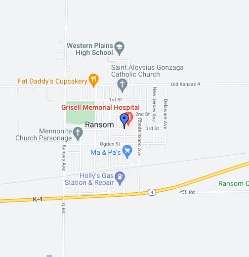 Ransom, KS - Google My Maps