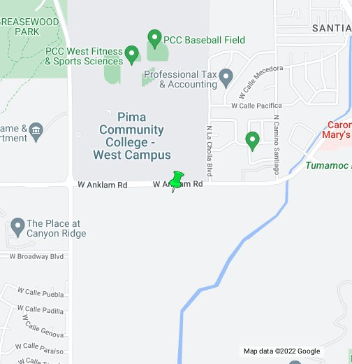 Pima County Community College Google My Maps