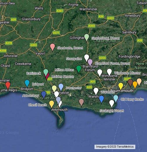 Map Of Dorset Dorset   Google My Maps Map Of Dorset