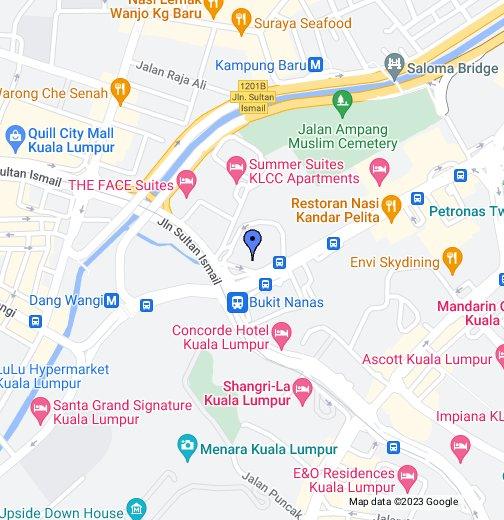 Kuala Lumpur Map Renaissance Kuala Lumpur Hotel   Google My Maps