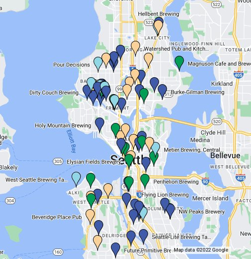 Seattle Breweries and Beer Spots