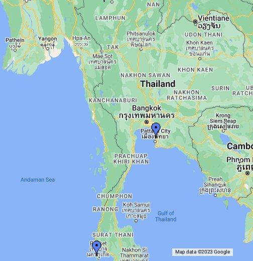 Deutsches Konsulat Thailand – Google My Maps
