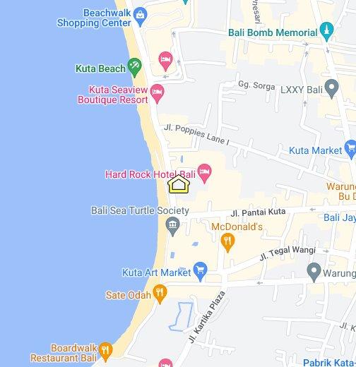 Mercure Kuta Bali Google My Maps