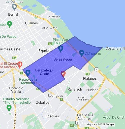av republica mapa Berazategui, Buenos Aires, Argentina   Google My Maps av republica mapa