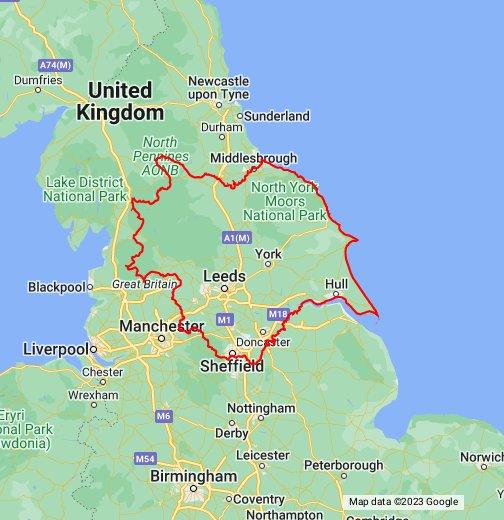 Map of Yorkshire – Google My Maps Inglaterra And Us Map on corea del sur map, iran map, serbia map, portugal map, chad map, taiwan map, marruecos map, bolivia map, bangladesh map, burkina faso map, paraguay map, islandia map, españa map, trinidad y tobago map, sri lanka map, uganda map, ucrania map, el salvador map, granada map,