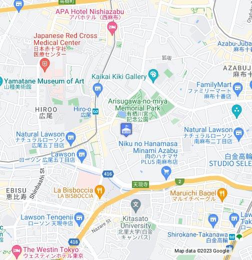 Germany Embassy Tokyo - Google My Maps