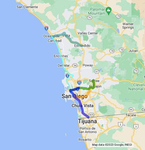 San Diego Trolley - Google My Maps