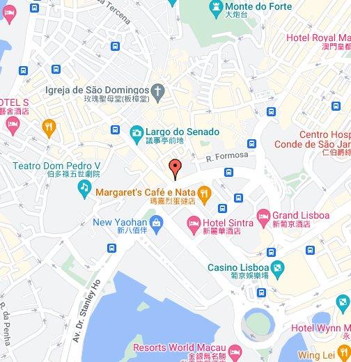 Macau - Macau map