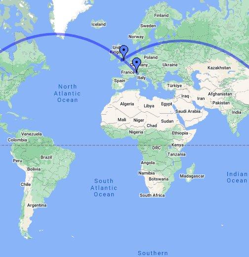 Cartina Nuova Zelanda.Itinerario Nuova Zelanda Google My Maps