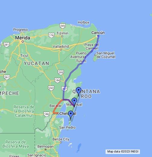 The Costa Maya - Google My Maps