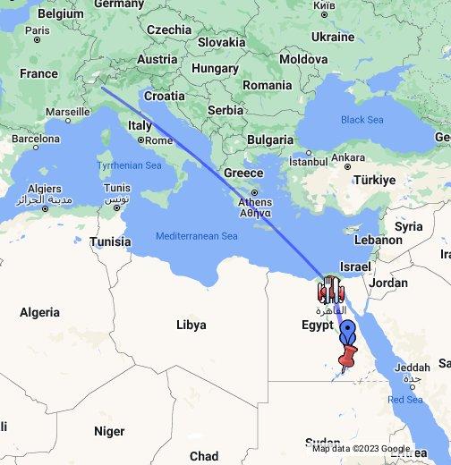 Cartina Egitto In Italiano.Viaggio In Egitto Google My Maps