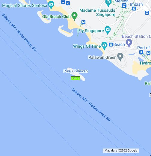 Map of pulau palawan singapore google my maps gumiabroncs Gallery