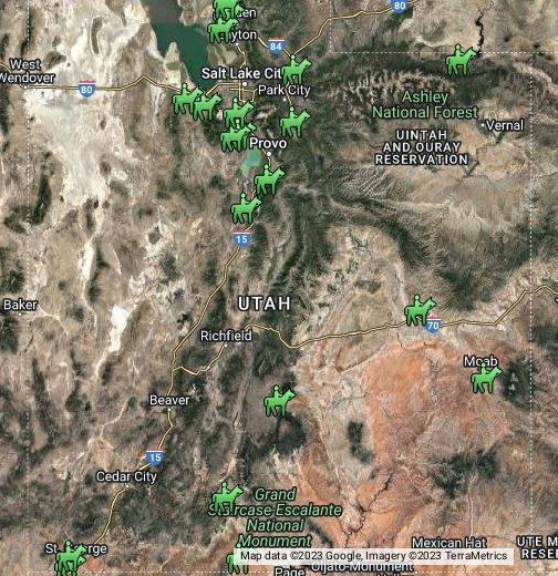 Utah   Google My Maps