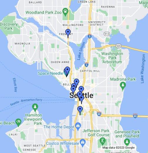 Seattle, WA - Google My Maps on
