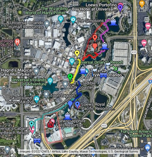 OI\'s Universal on-site hotel map - Google My Maps