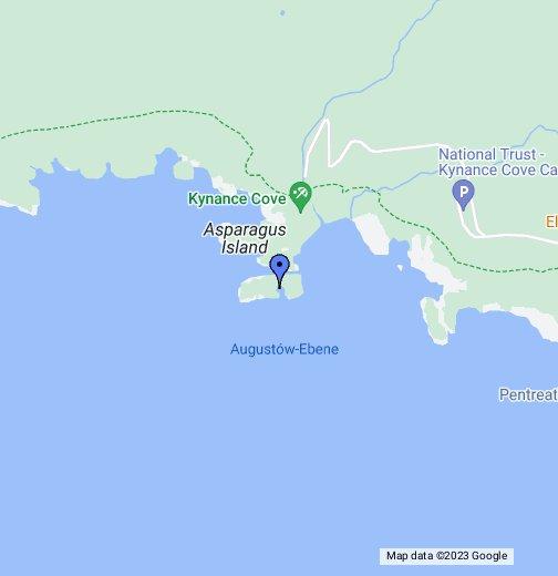 cornwall karte google Kynance Cove   Google My Maps