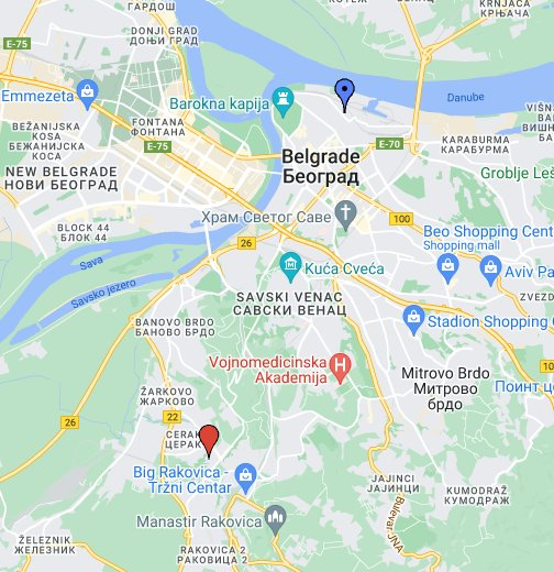 dobracina ulica beograd mapa 3D mapa ulica Beograd SEO 0641700992   Google My Maps dobracina ulica beograd mapa