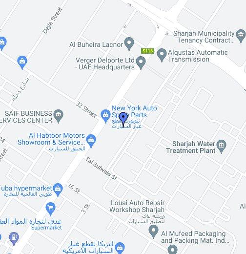 VERGER et DELPORTE UAE Ltd - Google My Maps