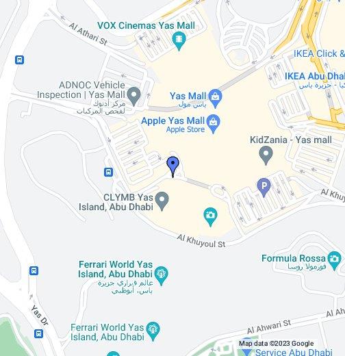 Ferrari World Map.Ferrari World Abu Dhabi Google My Maps