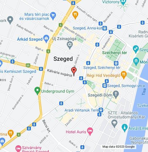 szeged térkép google Mega PC Szeged – Google Saját térképek szeged térkép google