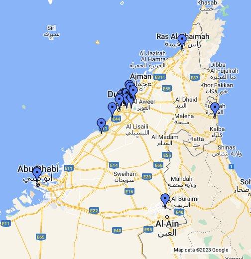 DHL Express Logistics - Google My Maps
