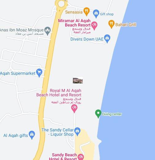 miramar al aqah beach resort fujairah uae google my maps
