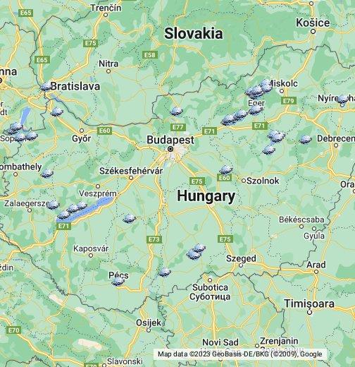 balaton község térkép Magyarországi útibeszámolók helyszíneinek – Google Saját térképek balaton község térkép