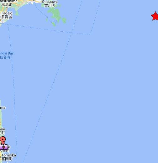 Fukushima I Nuclear Power Plant - Google My Maps