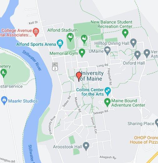 University Of Maine Orono Maine Google My Maps