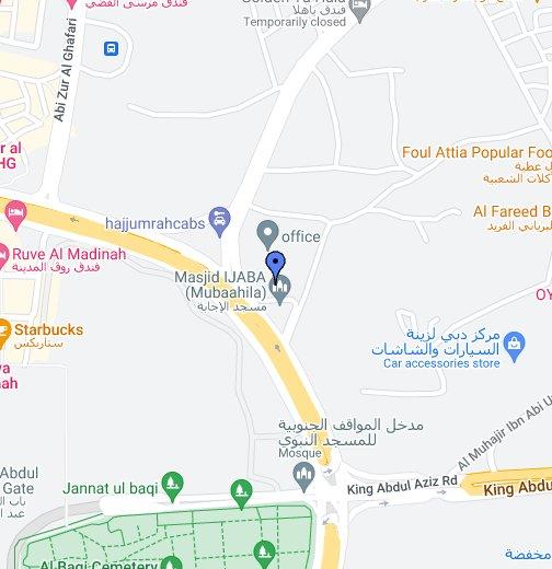 المدينة المنورة Google My Maps