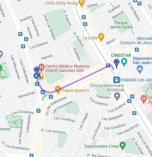 Mi ubicación - Google My Maps