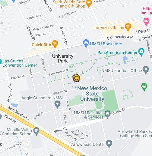 Nmsu Google My Maps