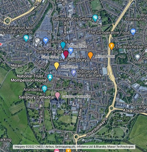 Salisbury, Wiltshire - Google My Maps