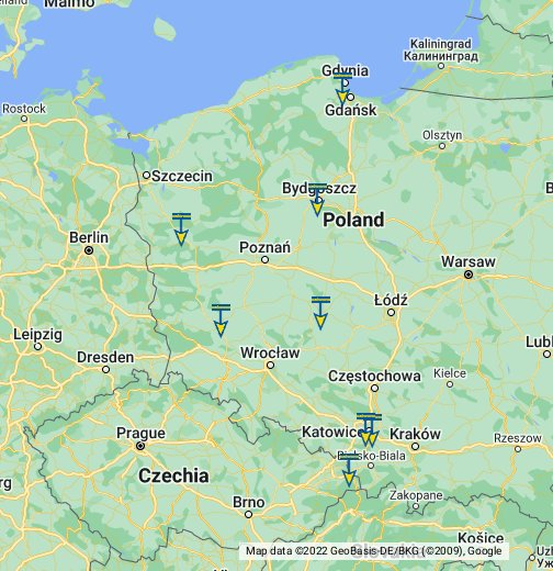 Castorama W Polsce Moje Mapy Google