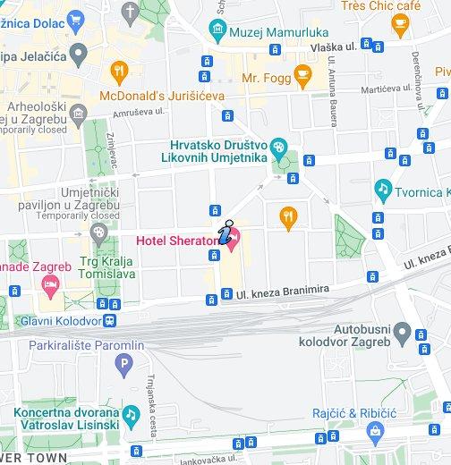 Zagreb Lenuci Horseshoe Map Travel With Sheemelle