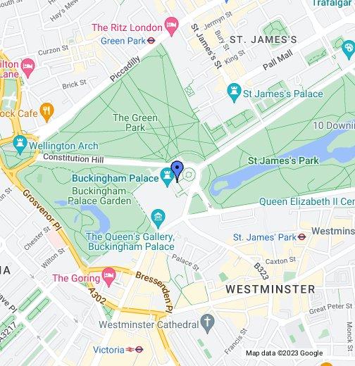 Buckingham Palace   Google My Maps