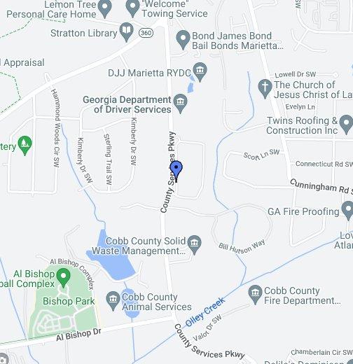 COBB COUNTY JAIL - Google My Maps