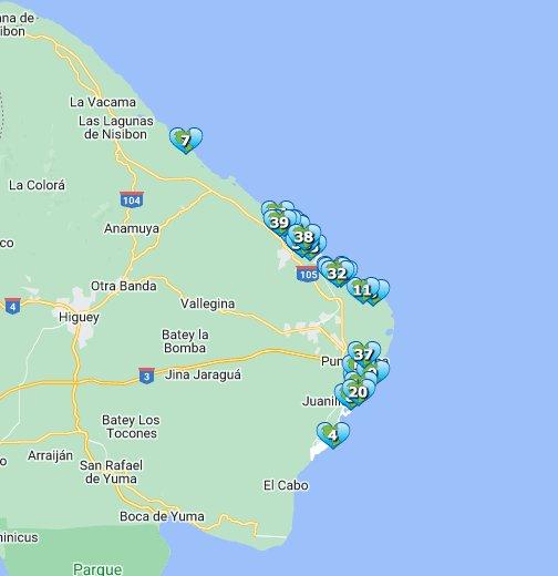 Punta Cana Resorts Google My Maps
