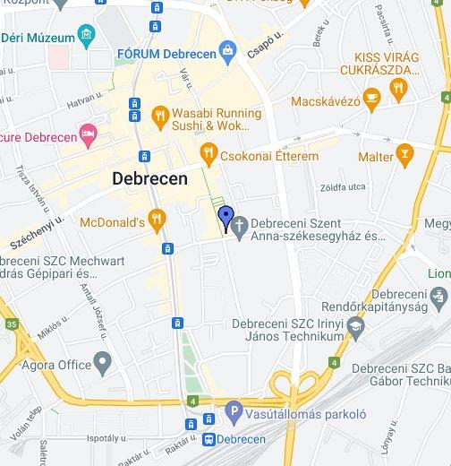 debrecen térkép kereső Kalóz Pub   Debrecen – Google Saját térképek debrecen térkép kereső
