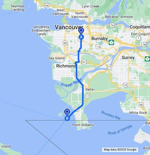 Map to BC Ferries   Tsawwassen   Google My Maps