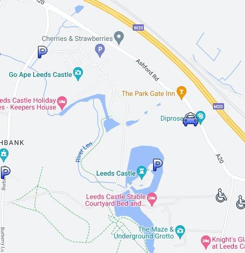 Leeds Castle   Google My Maps