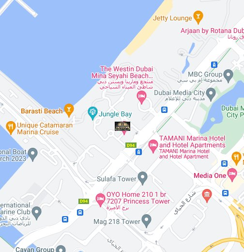 le royal meridien beach resort spa hotel dubai uae google my maps